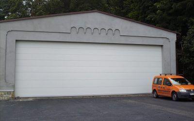 Ușa secțională pentru deschideri mari Gunther ProMax