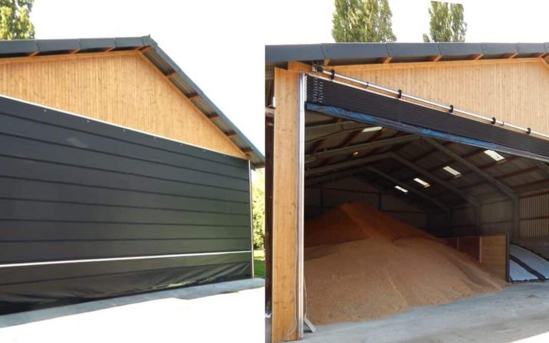Ușa flexibilă pentru agricultură Huesker Faltfront [blog]