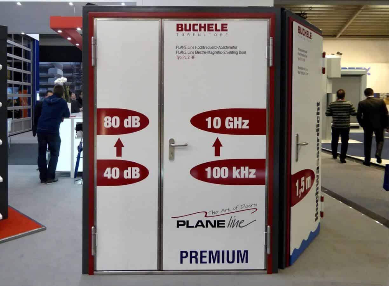 Ușa pentru protecție radiații ionizate BUCHELE