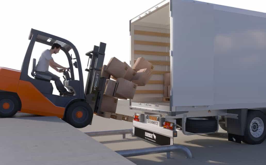 sistem automat blocare roti camion