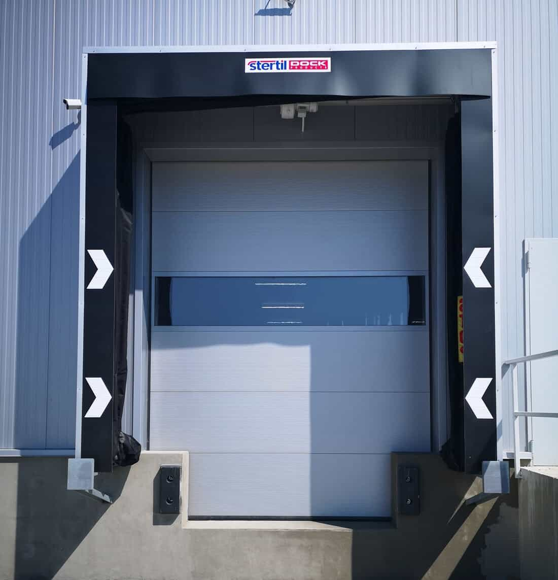 usa sectionala pentru depozite logistice
